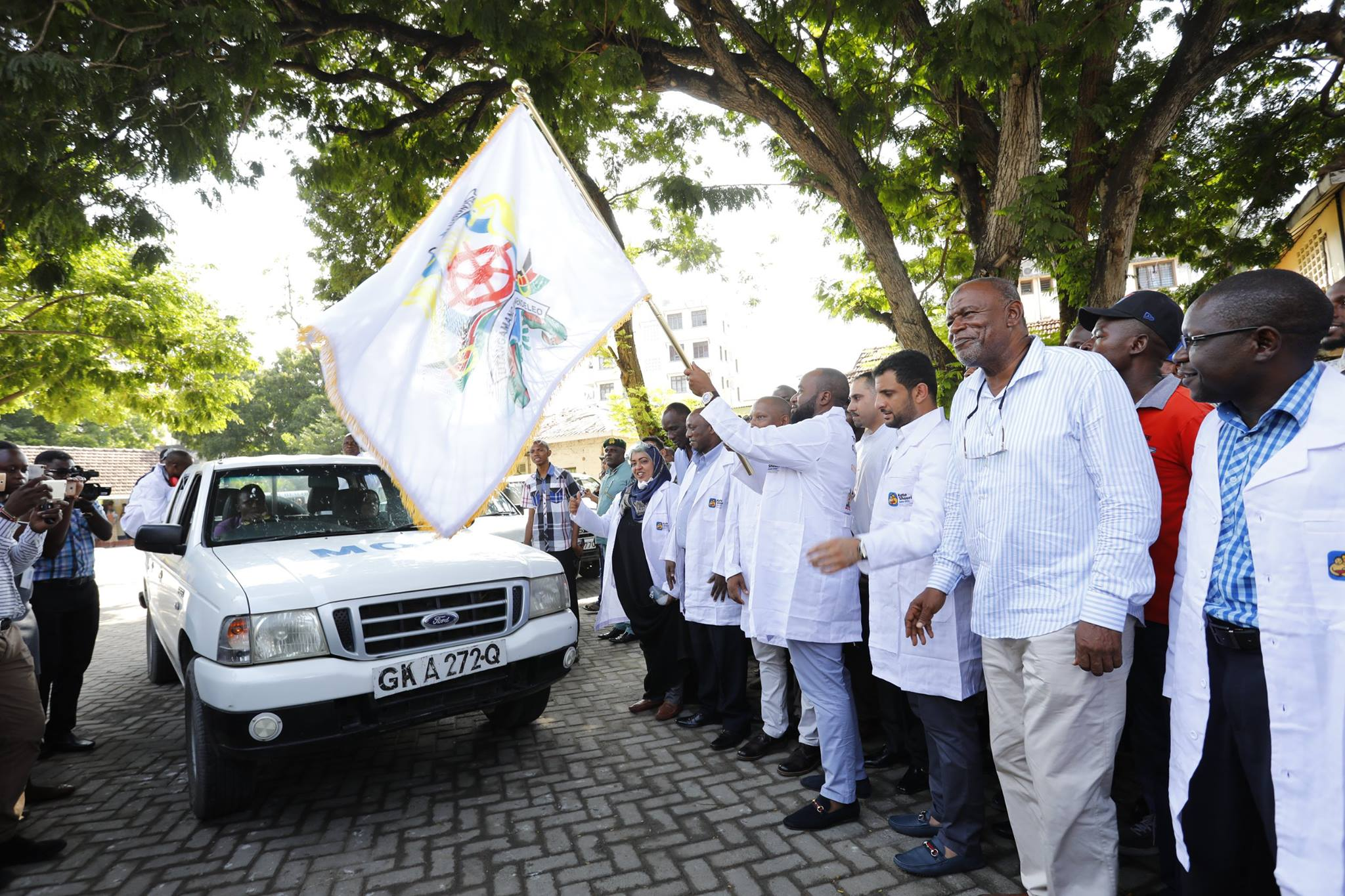 Launch of Mombasa County Fogging Program